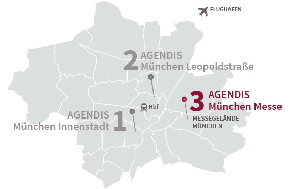 Business Center München Messe Agendis Bc München